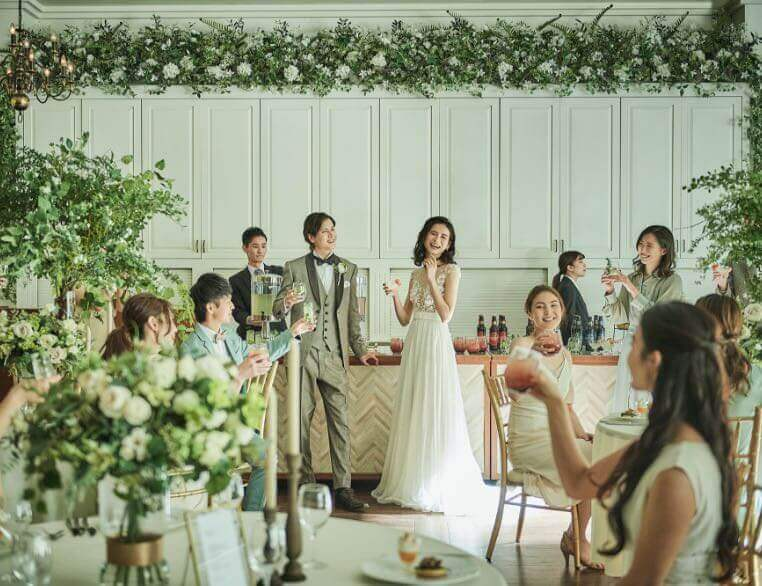 Party Style Wedding